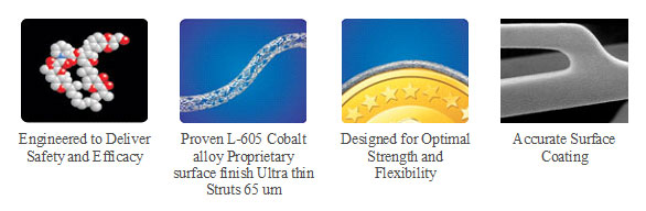 Engineered to Deliver Safety and Efficacy - Eternia Drug Eluting Stent - Nano Therapeutics Pvt. Ltd. - Heart Stent Manufacturing Company Surat, India