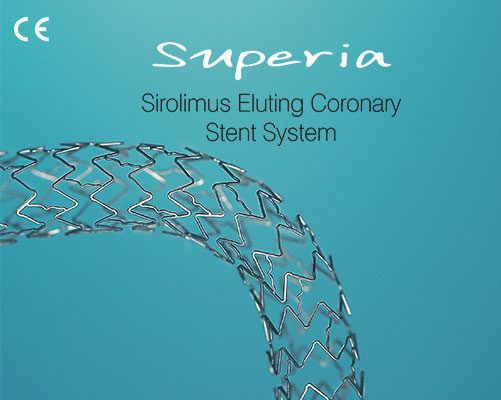 Superia – The Supreme drug eluting stent - Nano Therapeutics Pvt. Ltd. - Heart Stent Manufacturing Company Surat, India