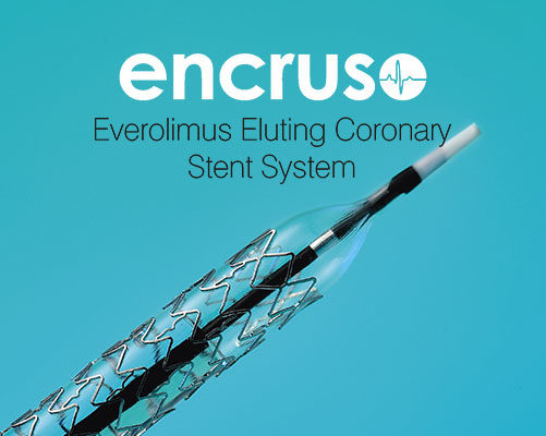 Encruso Drug Eluting Stent - Nano Therapeutics Pvt. Ltd. - Heart Stent Manufacturing Company Surat, India